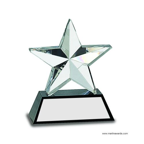 Crystal 3D Star