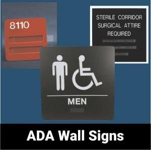 ADA Wall Signs
