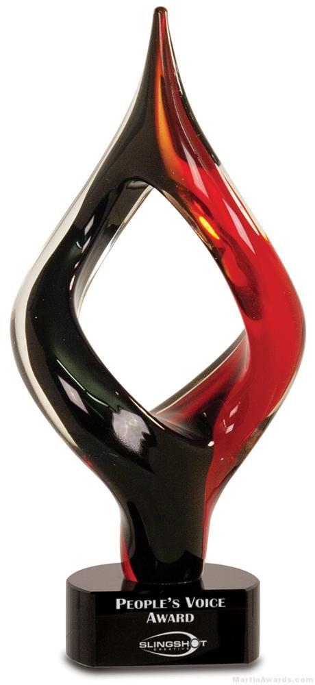 Eye of The Needle Art Glass Award
