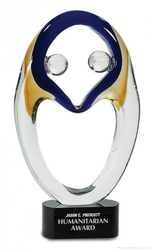 Humanitarian Art Glass Award