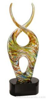 Iris' Helix Art Glass Award