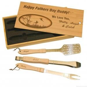 Bamboo BBQ Gift Set
