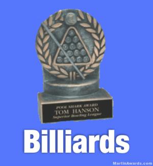 Billiards Trophies