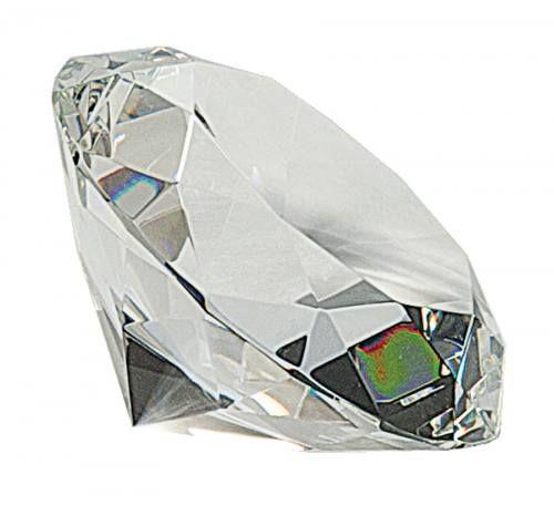 Clear Crystal Diamond Award