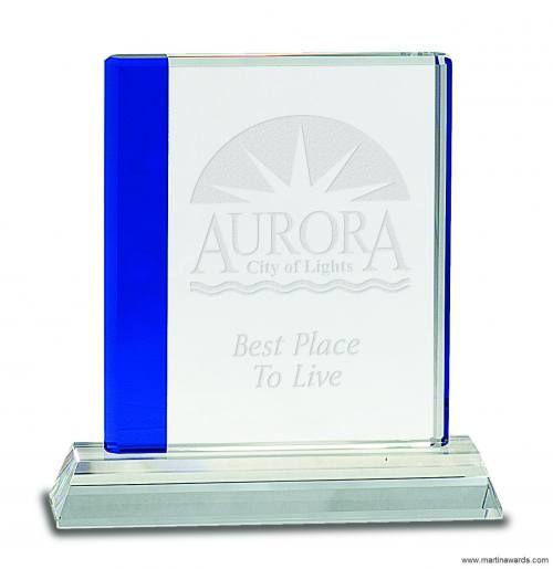 Blue Edge Crystal Award