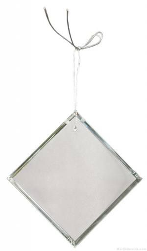 3 inch Crystal Diamond Ornament