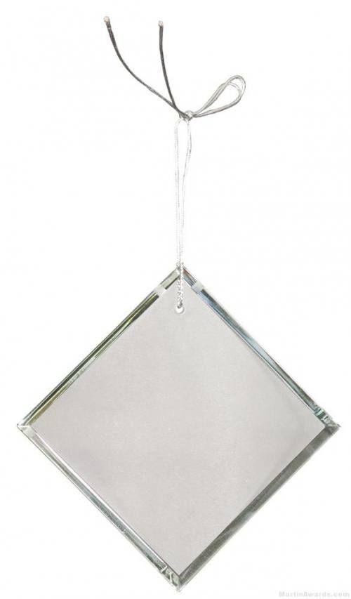 3 inch Crystal Diamond Ornament