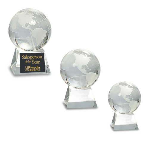 Genuine Prism Optical Crystal With Globe