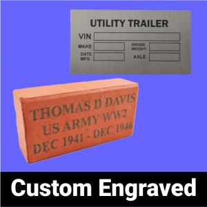 Custom Engraved
