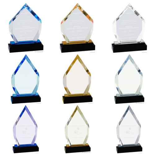 Diamond Fusion Impress Acrylic Award