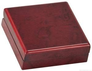 Rosewood Finish Medal Gift Box