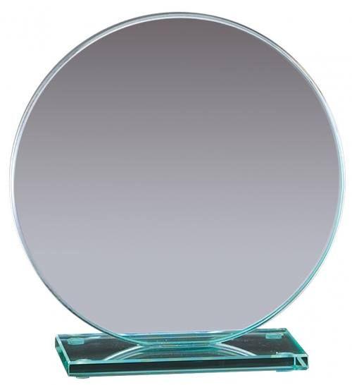 Round Jade Glass Awards