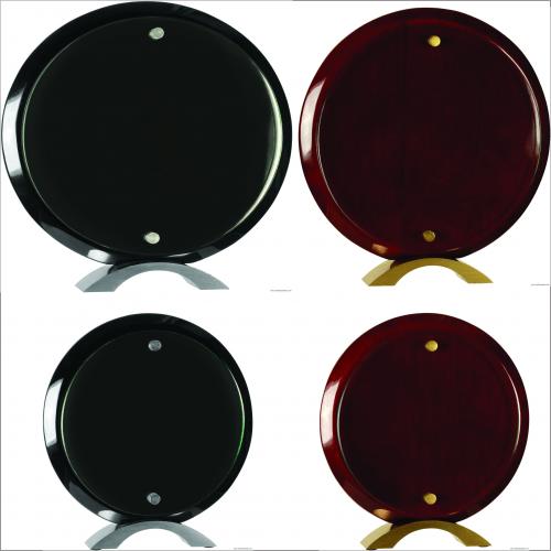 Round Glass Standup
