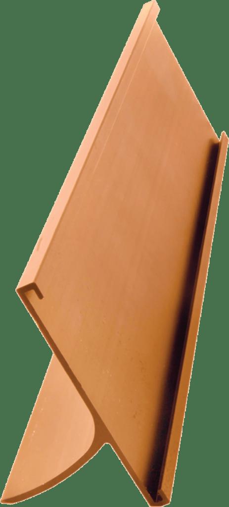 Gold 2 inch aluminum desk holder
