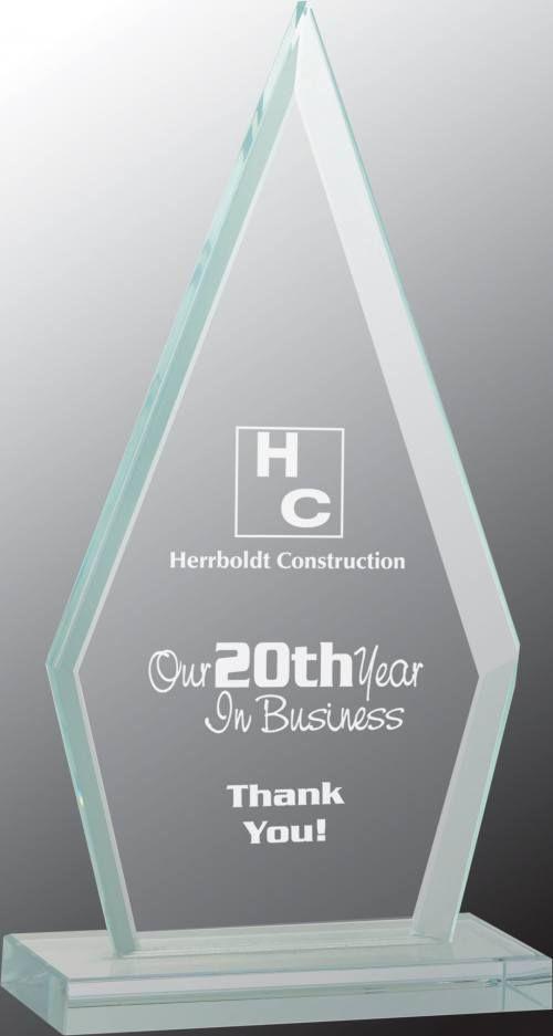 Triangle Jade Glass Award