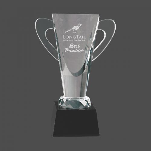 Crystal Cup on Pedestal Base