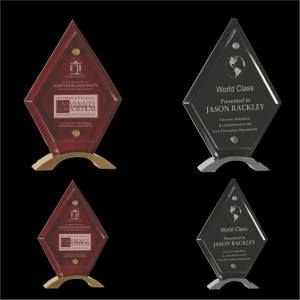 Diamond Glass Standup Award