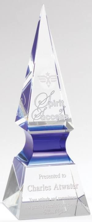 Blue Spear Crystal Award