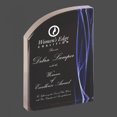 Blue Vapor Wave Acrylic