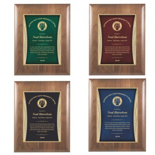 Showtime Plaque Award