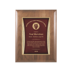 Red Showtime Plaque