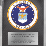 Air Force Hero Plaque