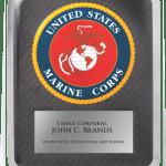 MA4507 – Marine Corps Hero Plaque