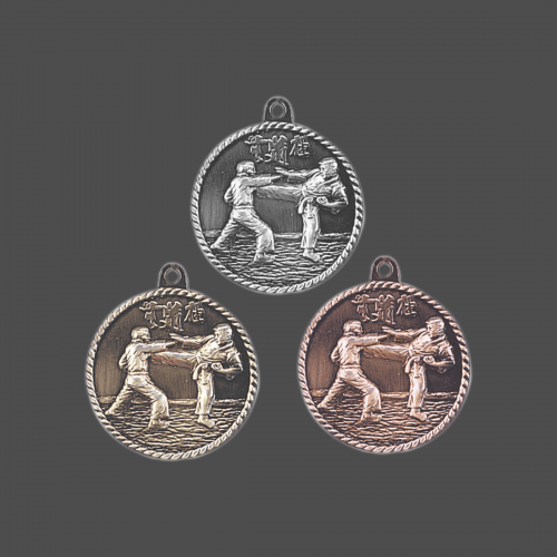 Karate Martial Arts Medal