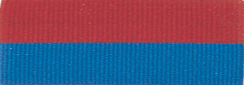 "7/8"" Red/Blue Neck Ribbon with Snap Clip"
