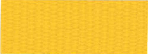 """1 1/2"""" Yellow Neck Ribbon with Snap Clip"""