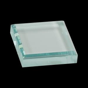 "3"" x 3"" Jade Acrylic Paperweight"