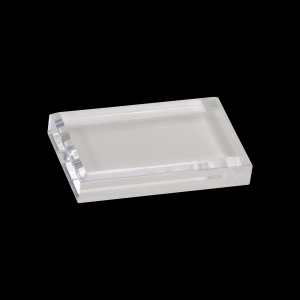"""4"""" x 2 1/2"""" Clear Acrylic Paperweight"""