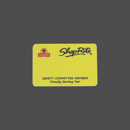 """2"""" x 3"""" Name Badge 4-Color Process"""