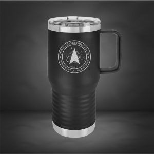 Space Force Polar Camel Tumbler 20 oz with Handle