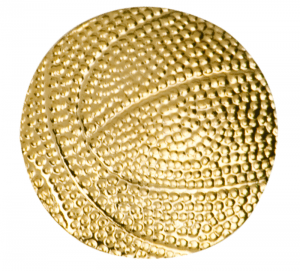 Basketball Lapel Pin