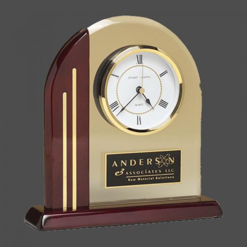 Chicago Arch Desk Clock