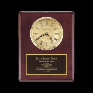 Raleigh Piano Finish Clock
