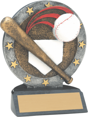 Short Baseball All Star Resin