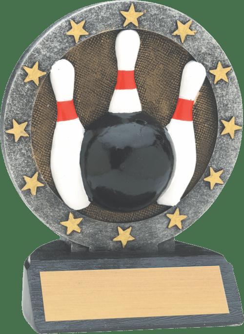 Short Bowling All Star Resin
