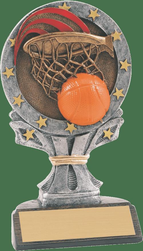 Taller Basketball All Star Resin