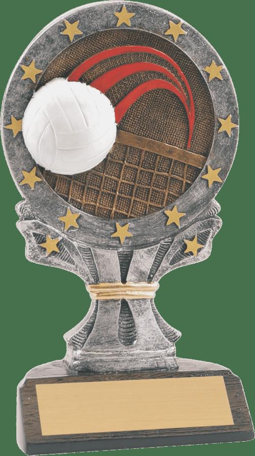 Taller Volleyball All Star Resin