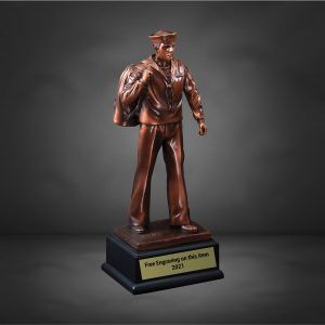 US Navy Bronze Male Trophy
