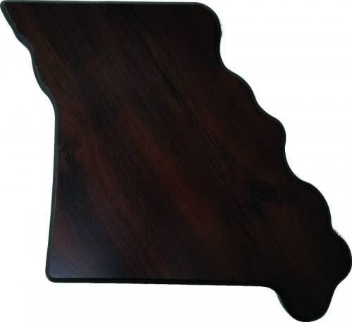 Missouri State Shaped Plaque
