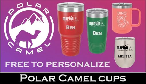 Polar Camel Cups