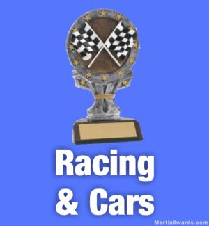 Race Car Trophies
