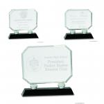 Rectangle Crystal Award