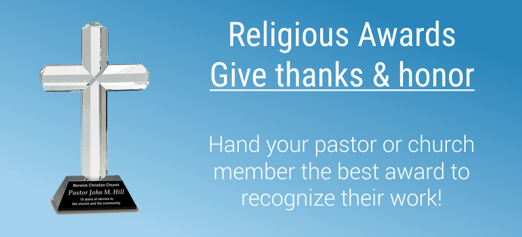Religious Awards Give thanks honor