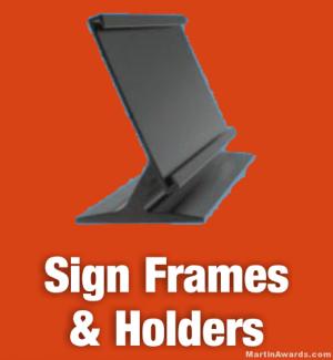 Sign Frames & Holders