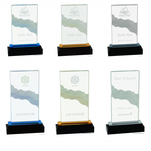 Wave Fusion Impress Acrylic Awards