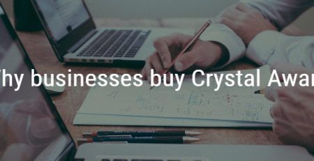 Why Businesses buy crystal awards